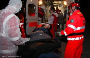 Una donna di 29 anni soccorsa dal personale medico dei Cavalieri di Malta