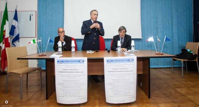 001 - Workshop sullo sfruttamento ecosostenibile del mare Jonio - Nella foto Papaleo, Bagetta, Sinibaldo Esposito