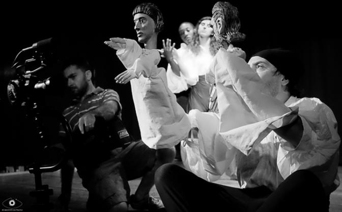 017# Alcesti backstage - Emanuele Spagnolo (Stedycam), Darius Johnson, Olivia Damore, Angelo Aiello -