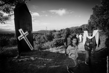 0009# Inaugurazione Via Matris Davoli - L'incontro di Gesù sulla via del calvario - Raffele Viscomi