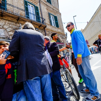 0020# Giro d'Italia 2016 Catanzaro -Xasraw Abidulhamid, Campione Iracheno campione asiatico, CARA Isola Capo Rizzuto -