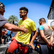 0021# Giro d'Italia 2016 Catanzaro -Xasraw Abidulhamid, Campione Iracheno campione asiatico, CARA Isola Capo Rizzuto -
