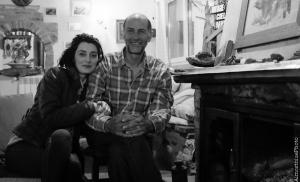 006# Pasqualina Tripodi Pasly - Pasqualina con lo zio Antonio al Rifugio il Biancospino